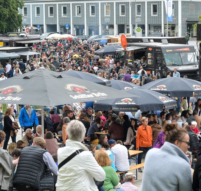 Street-Food-Market in Kempten
